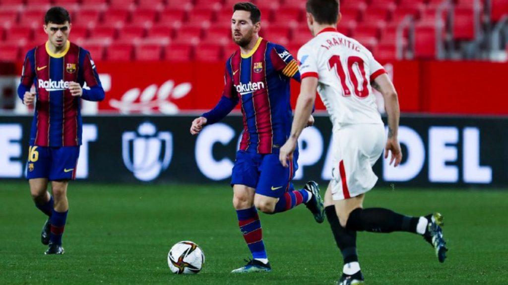 Sevilla - Barça, quarts Copa (1-0)