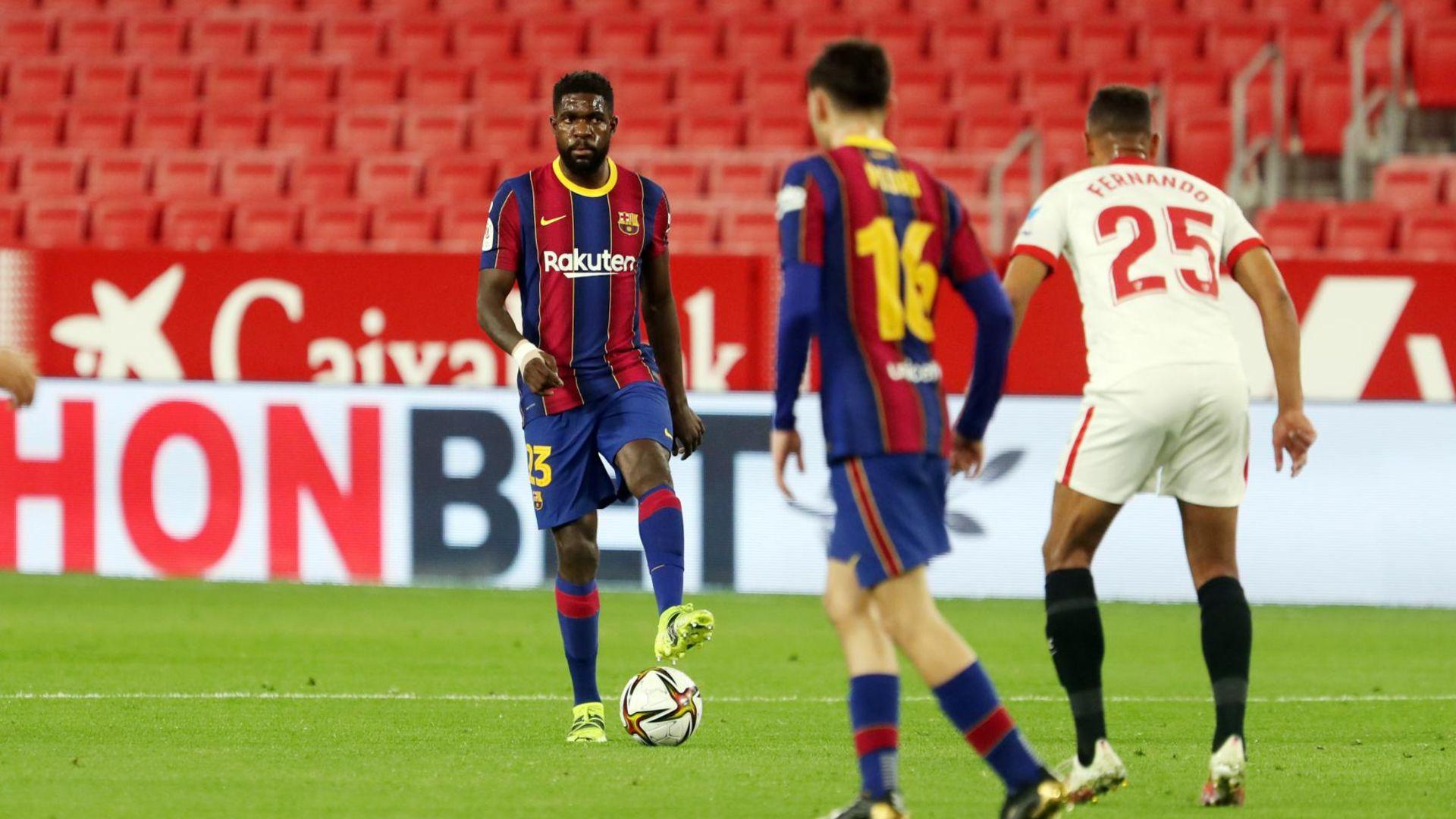El barça perd amb el Sevilla (2-0)