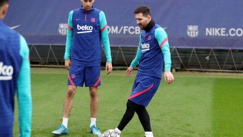 Leo Messi Joan Laporta