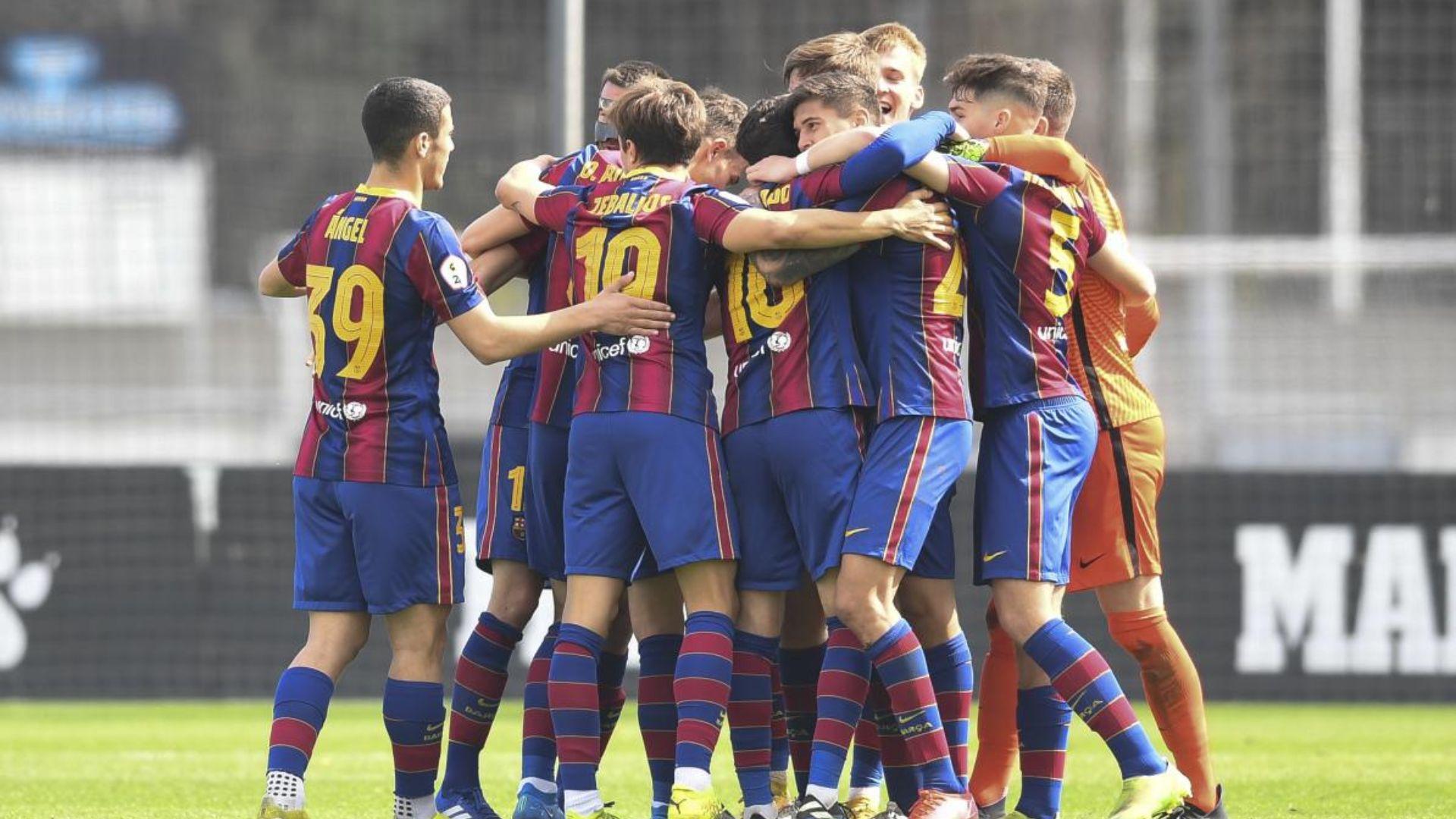 Calendari del Barça B per l'ascens a Segona