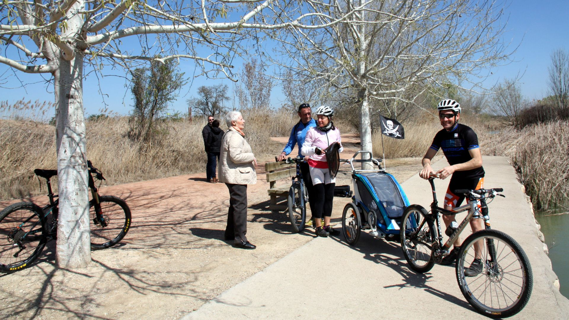 Excursió familiar bicicletes