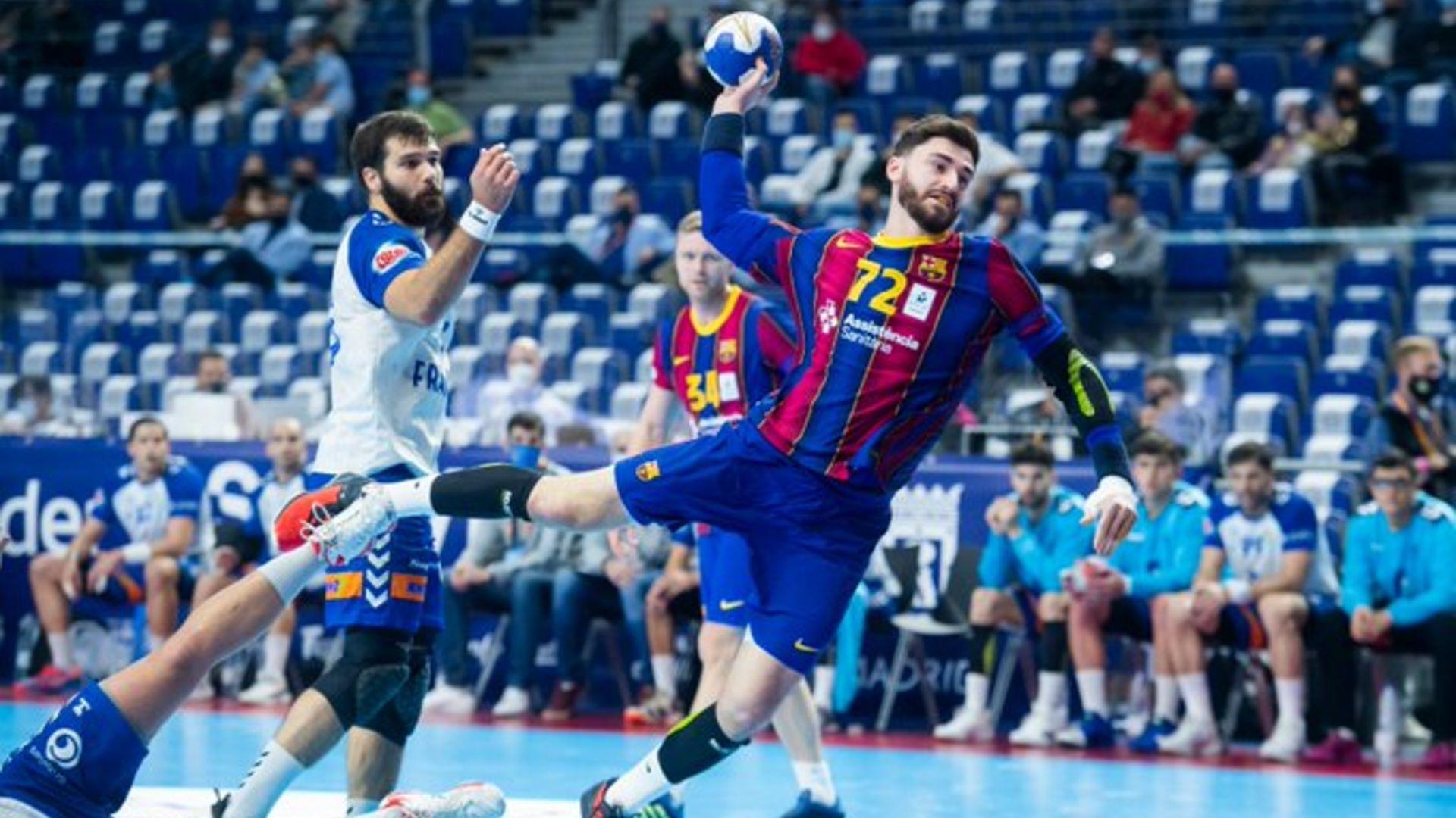 Granollers Barça handbol semifinals copa del Rei 2021