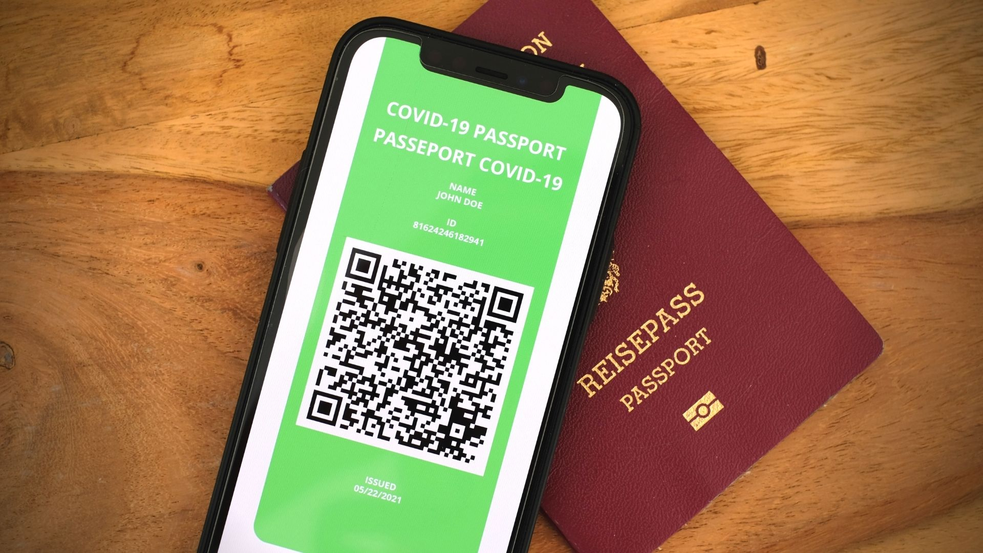 Passaport verd Covid UE