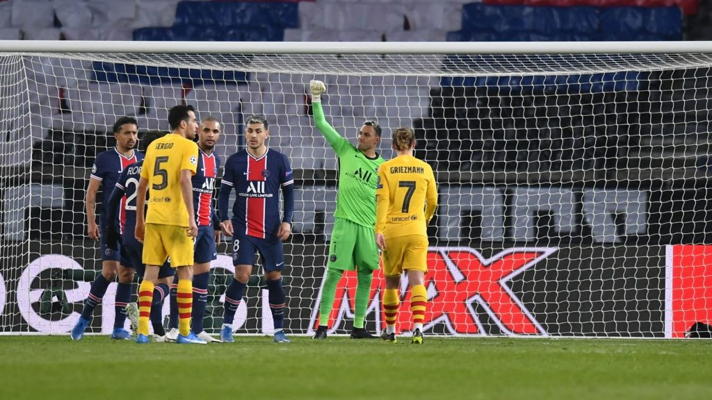 PSG - FC Barcelona, vuitens tornada Champions
