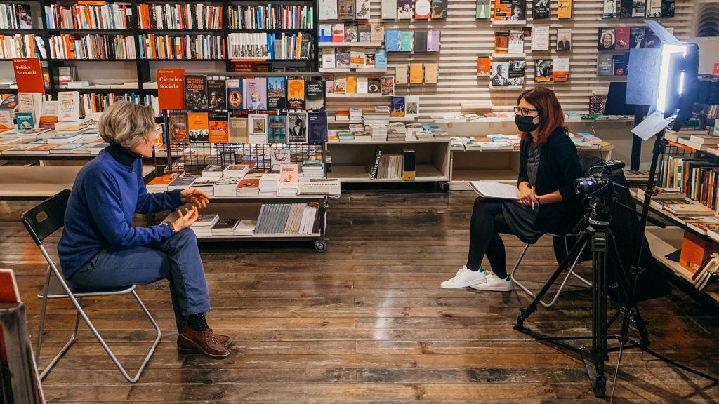 Entrevista Ingrid Guardiola Retrats 2021 Llibreria La Central