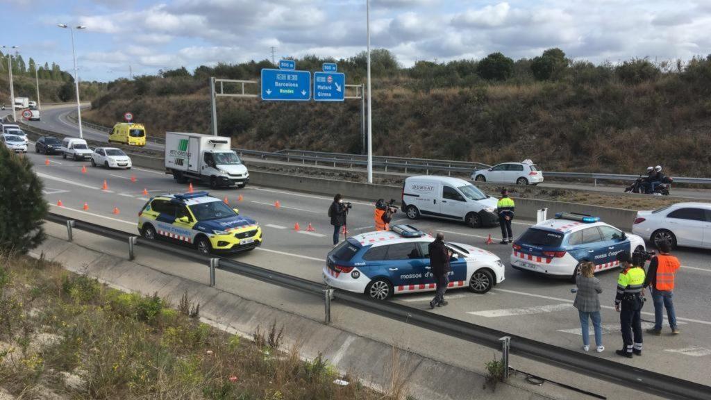 control transit mossos confinament comarcal