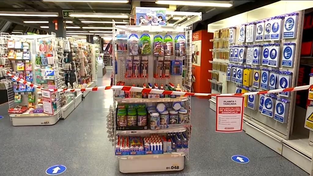 interior botiga amb espai limitat