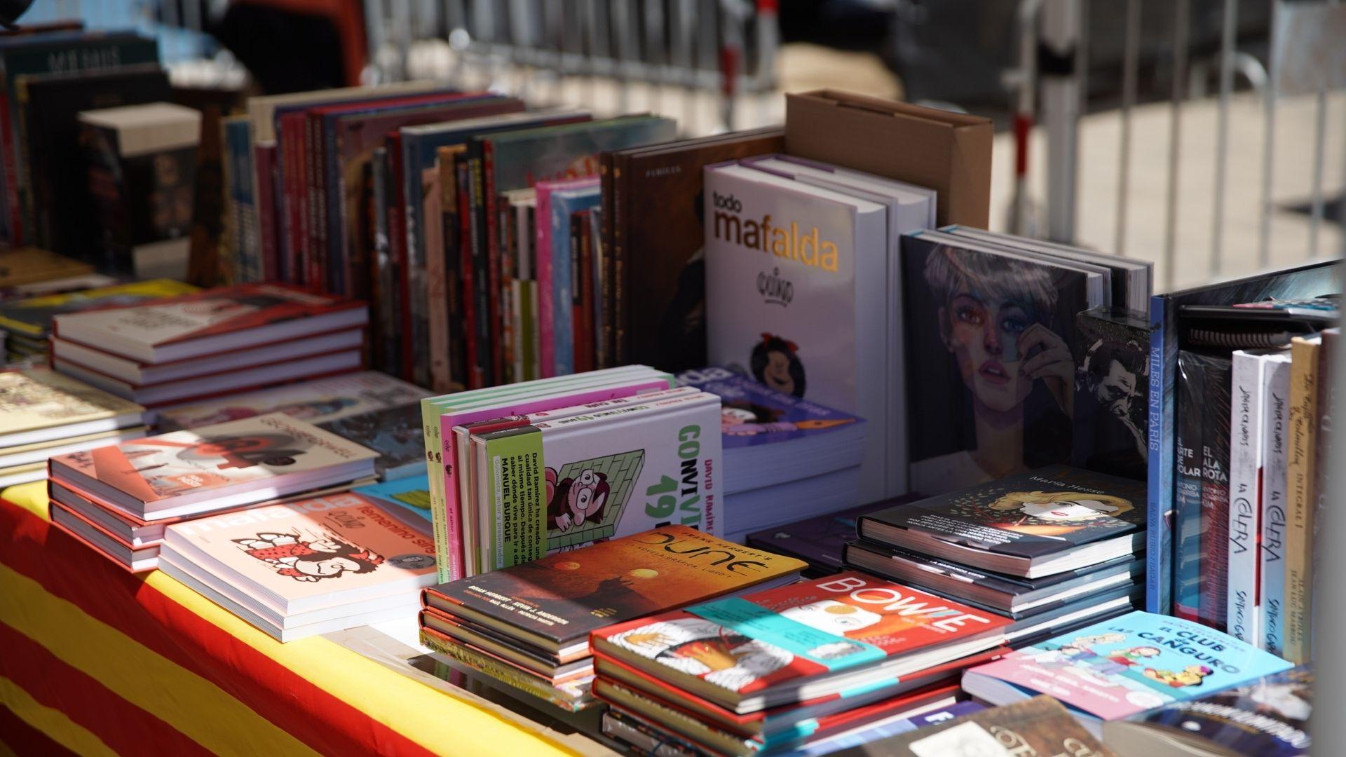 llibres Sant Jordi