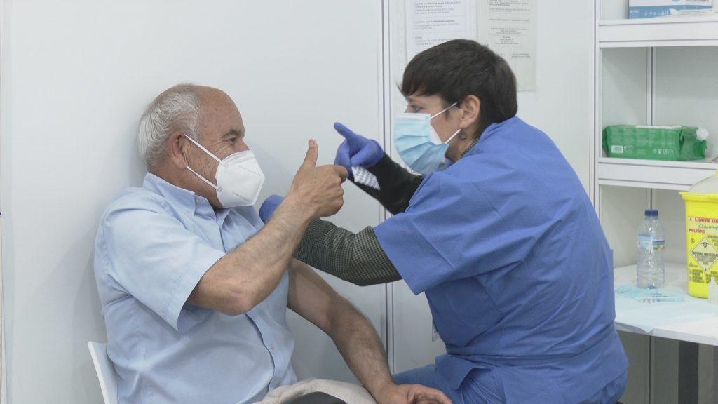 Vacunació a la Fira de Barcelona