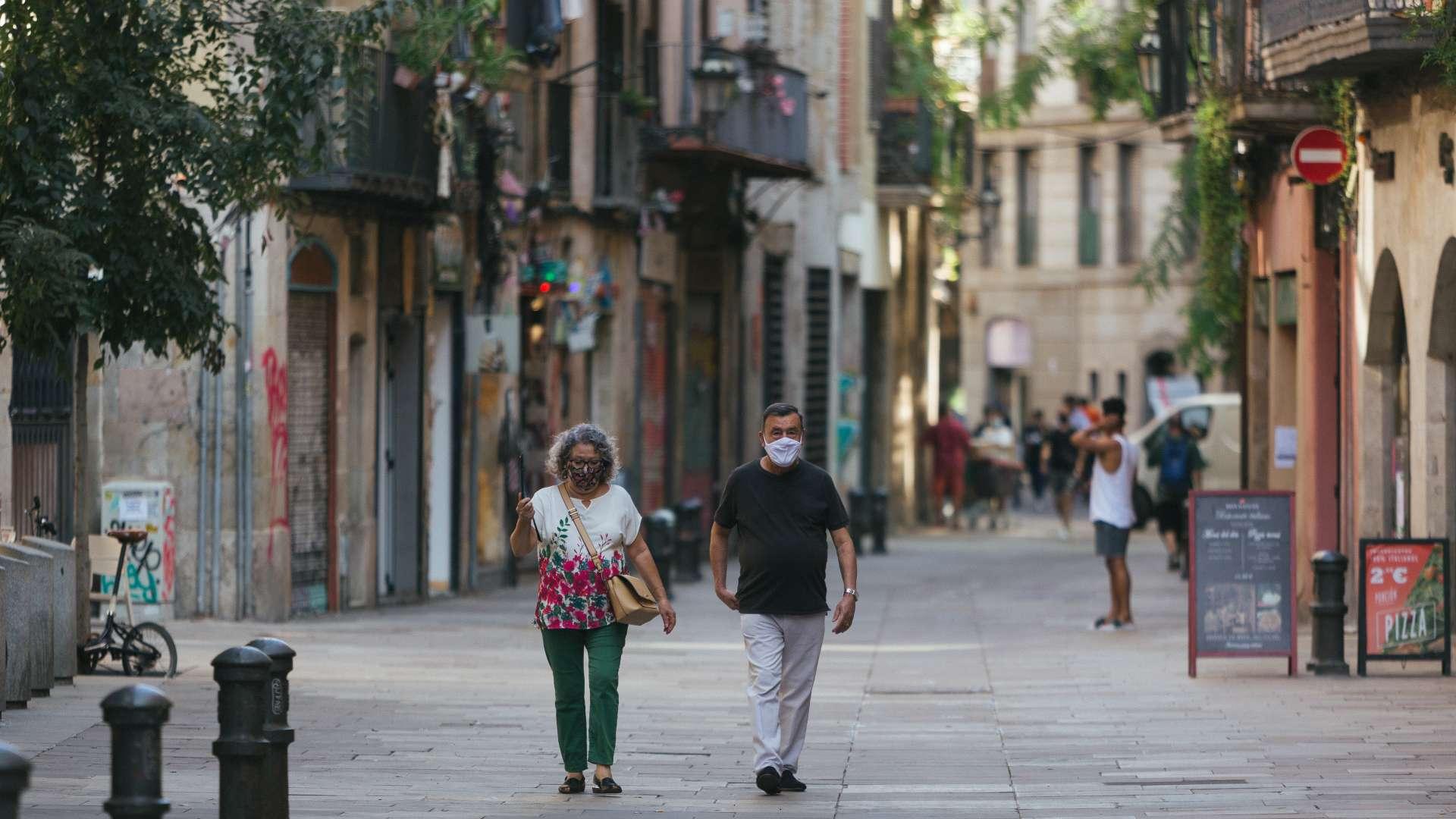 carrer barri de Sant Pere Santa Caterina