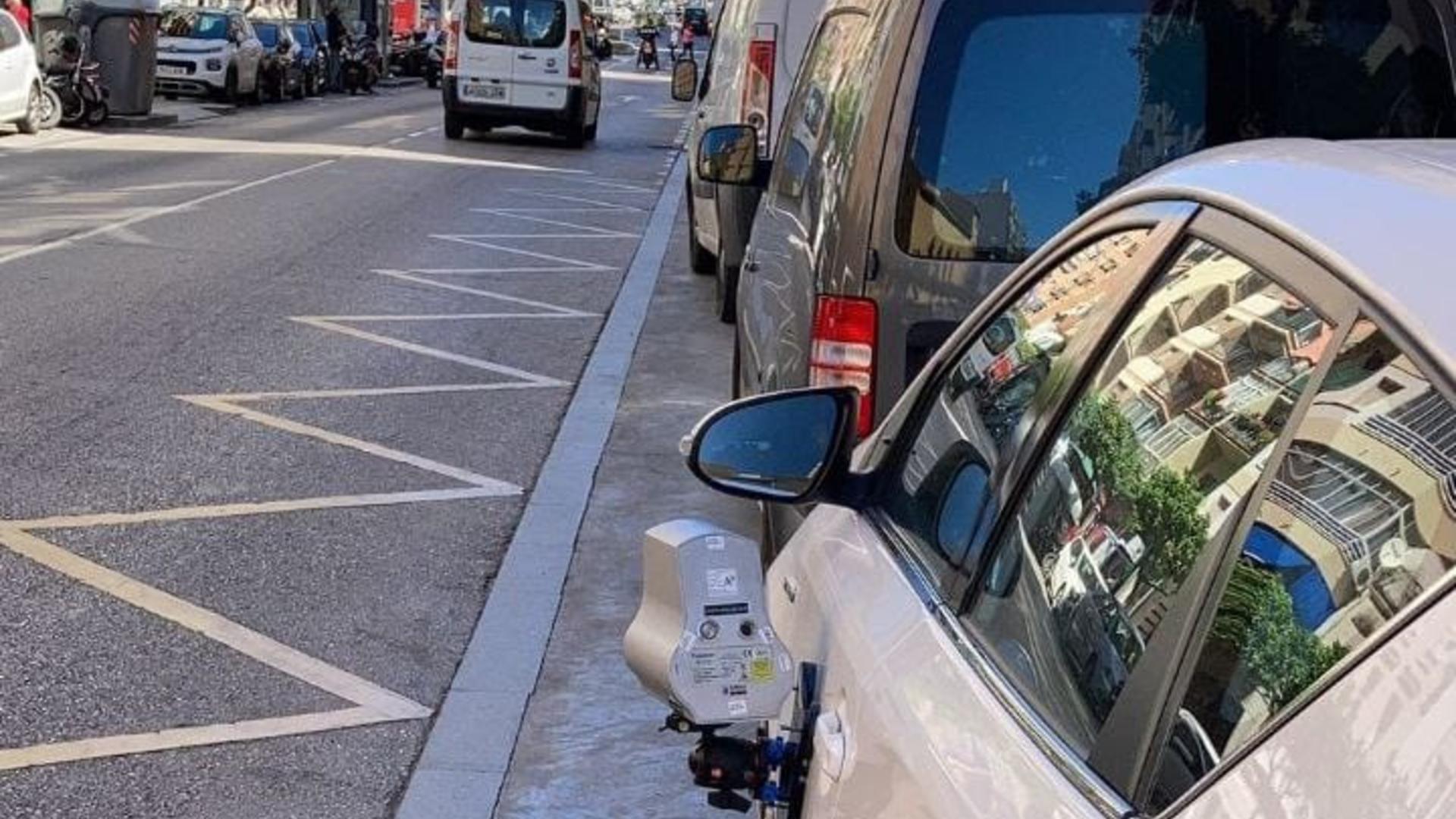 Càmera radar a Màlaga