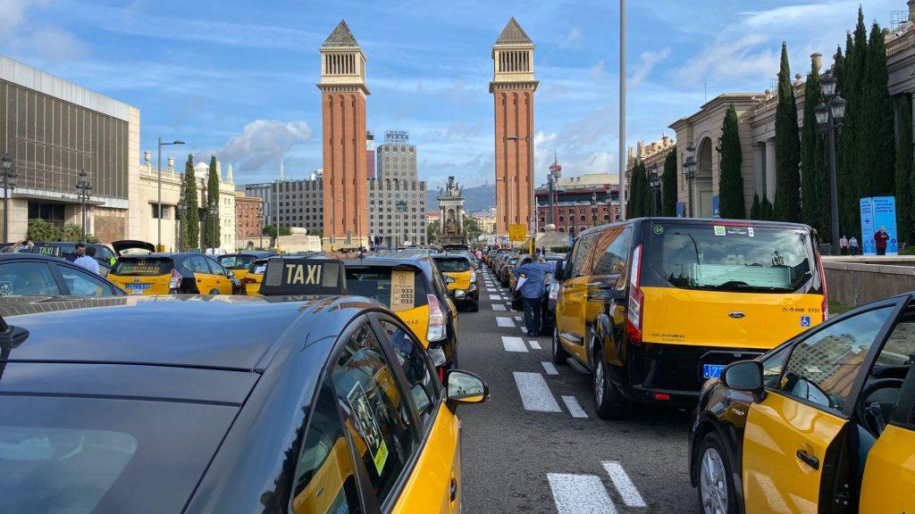 concentració taxistes