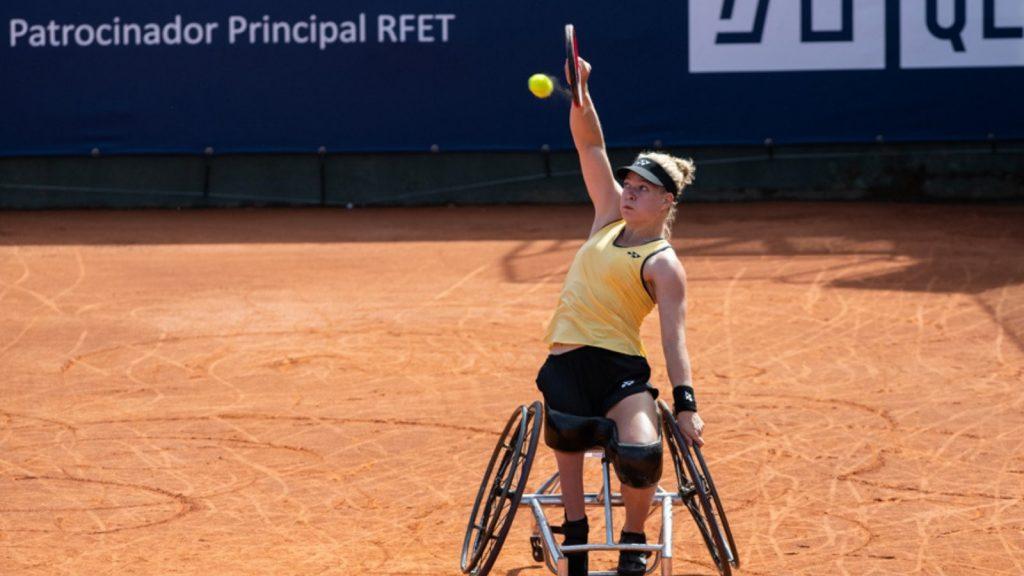 Diede de Groot, guanyadora TRAM Open Barcelona