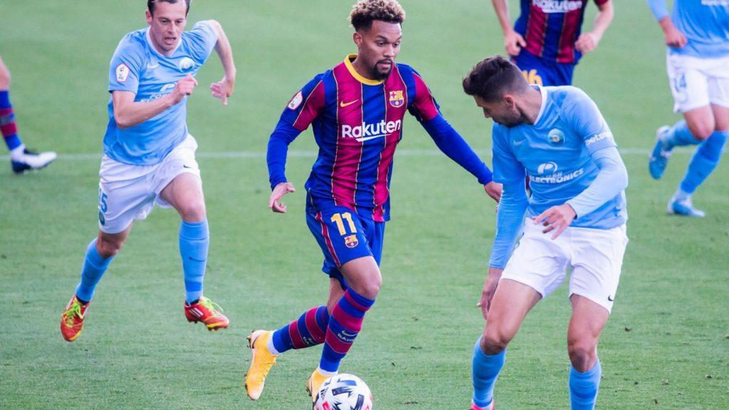 Konrad, golejador del FCB B - EIvissa