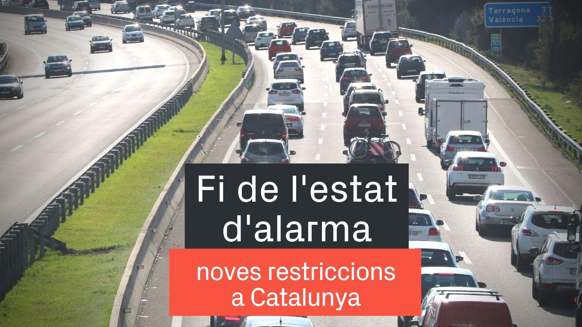 fi de l'estat d'alarma a Catalunya