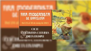 Fira Modernista de Barcelona 2021 cartell