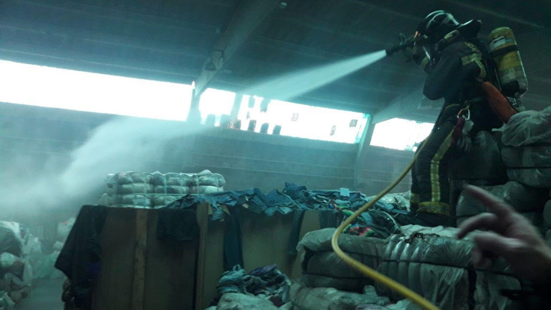 incendi magatzem textil marina