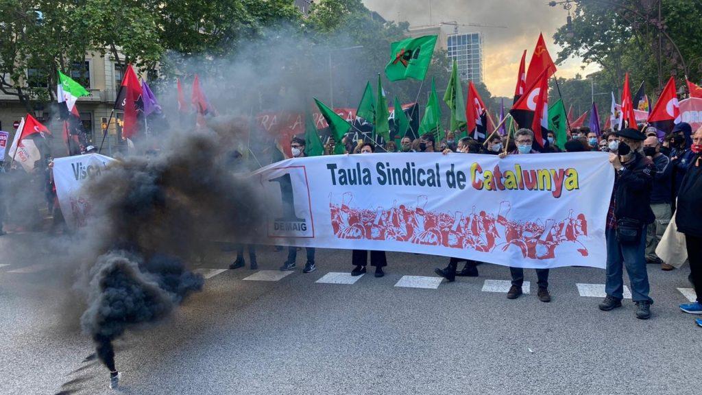 manifestació unitària 1 de maig