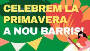 Festes de la Primavera a Nou Barris cartell