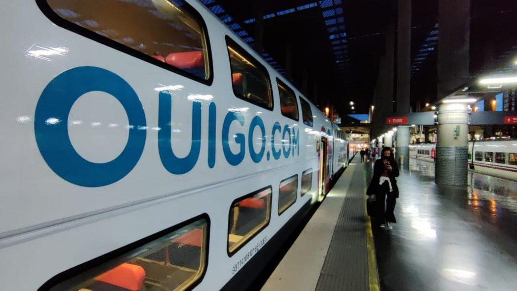 primer tren Ouigo Estació Atocha