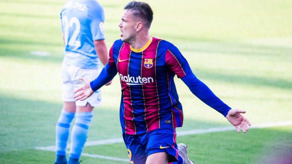 Rei Manaj, golejador del FCB B - Eivissa