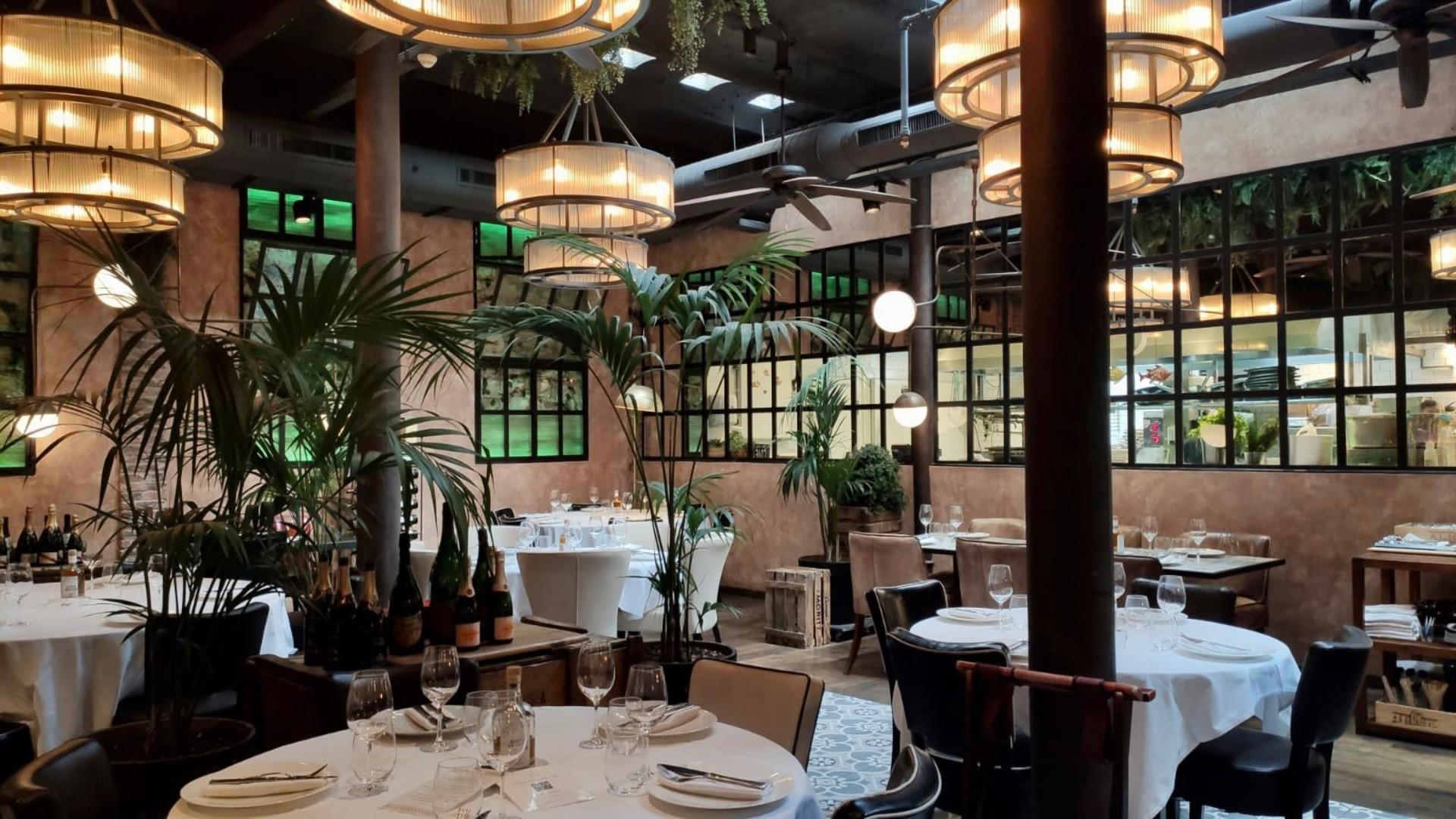 Interior d'un restaurant