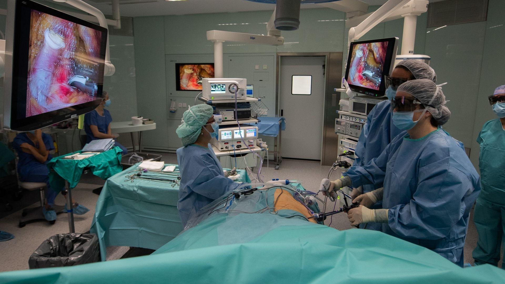 Trasplantament de ronyó a l'Hospital Clínic