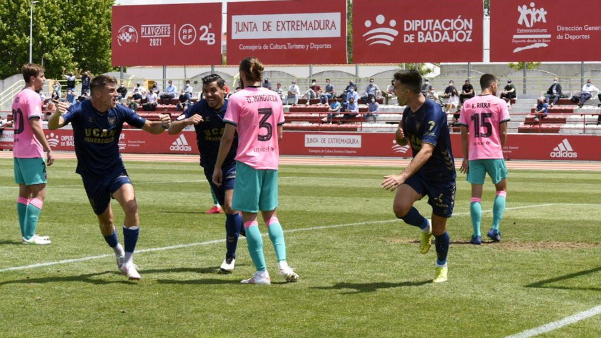 UCAM Múrcia - FC Barcelona B