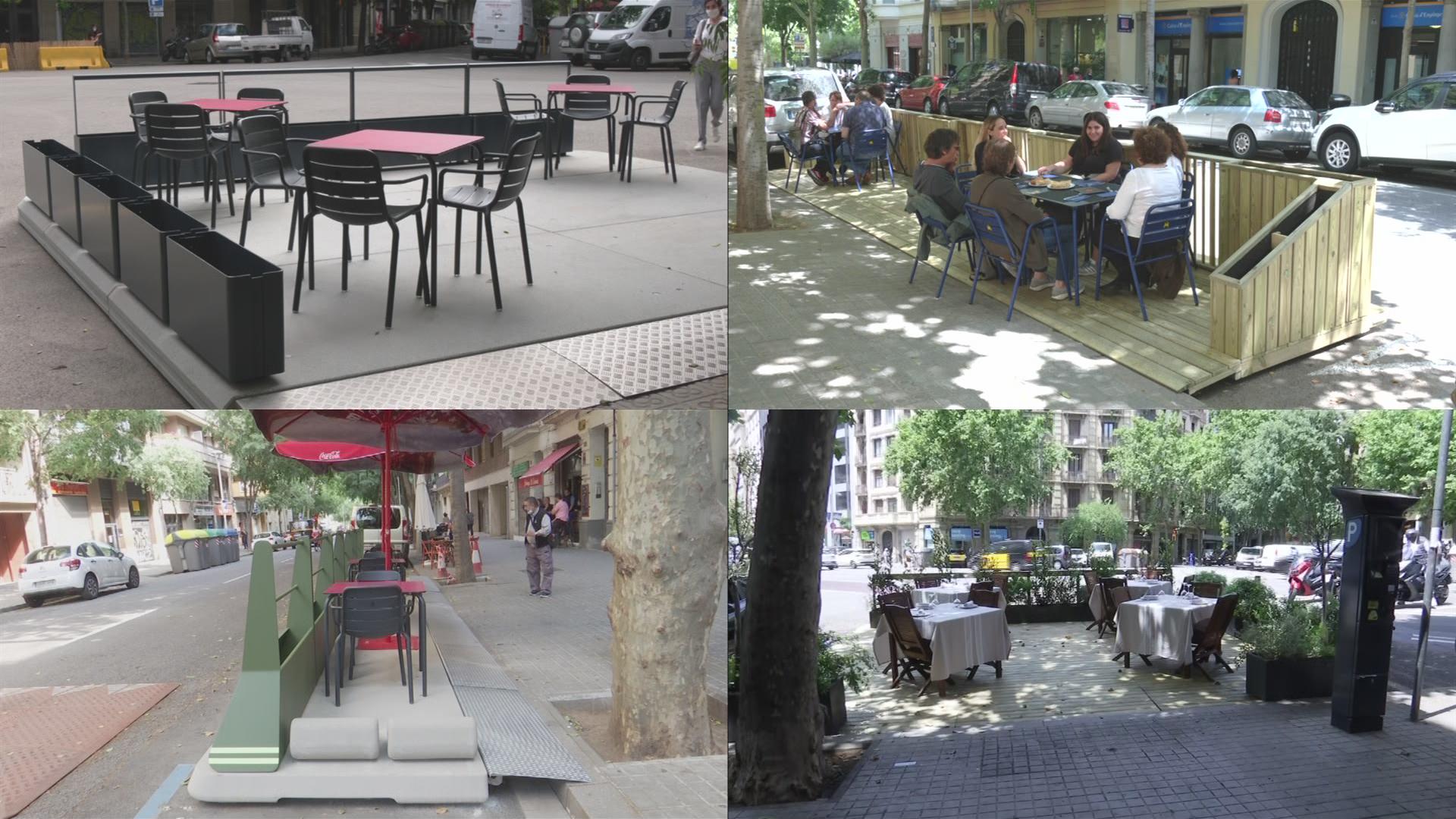 4 prototips terrasses barcelona eixample
