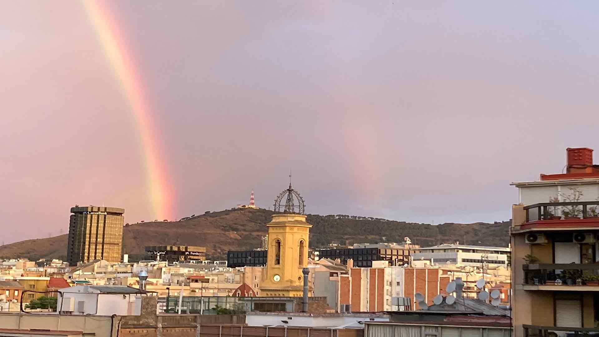 Árc de Sant Martí a Barcelona el 23 de juny de 2021