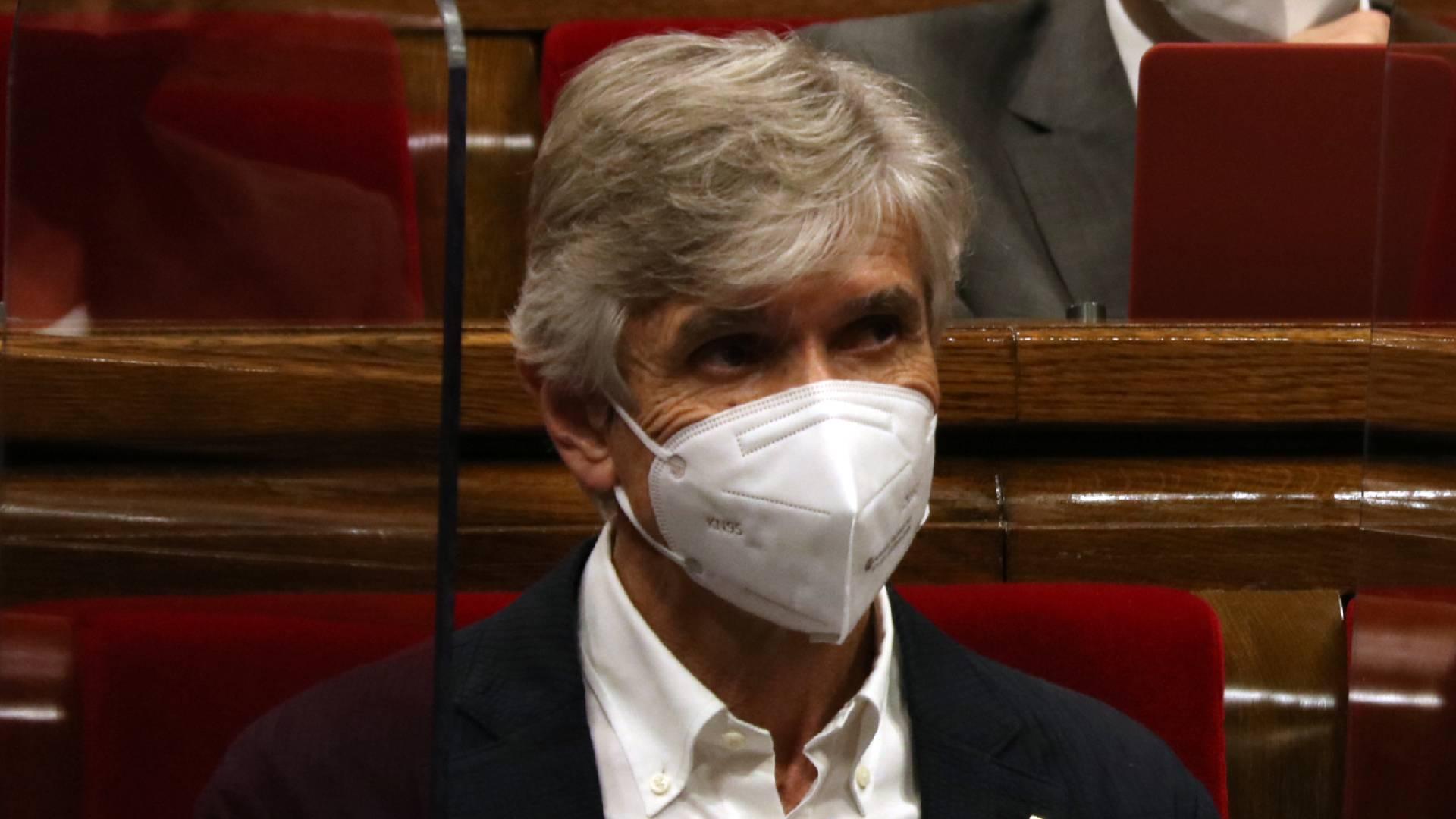 Josep Maria Argimon al Parlament