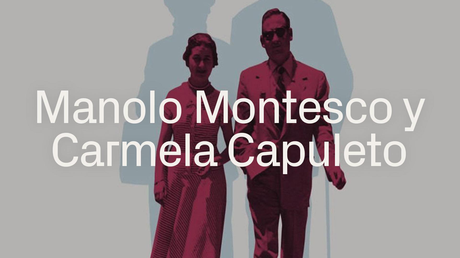 Manolo Montesco y Carmela Capuleto betevé