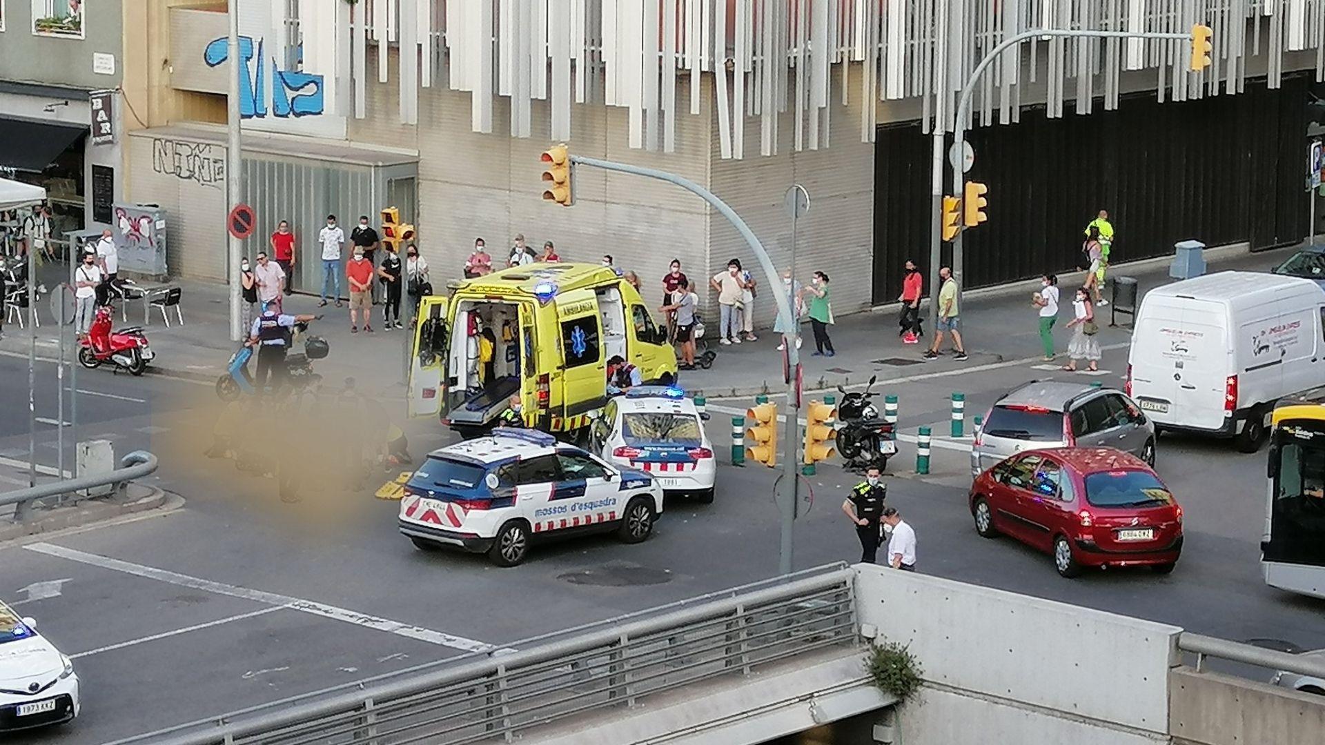 accident gran via