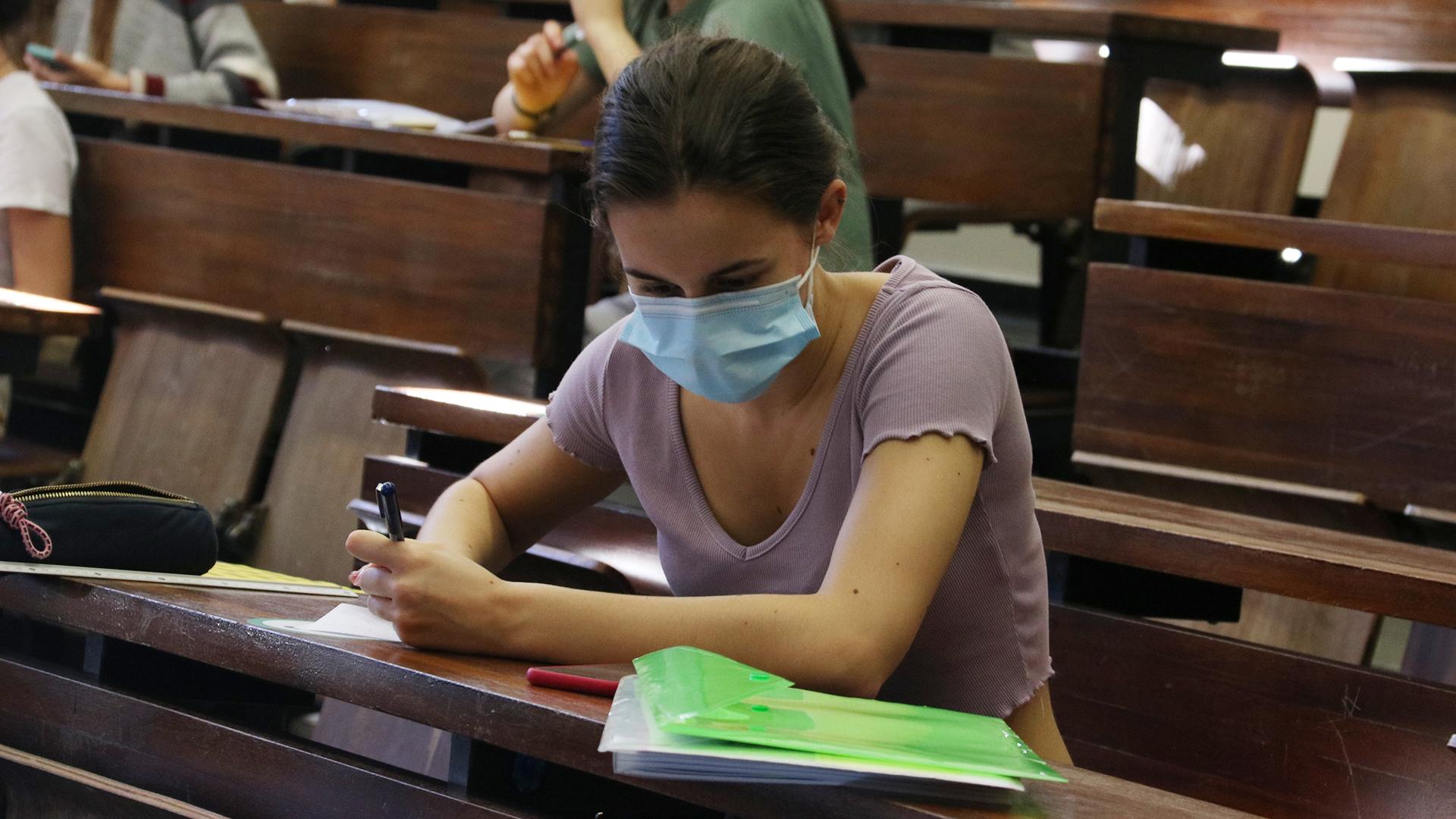 primer dia exàmens Selectivitat 2021