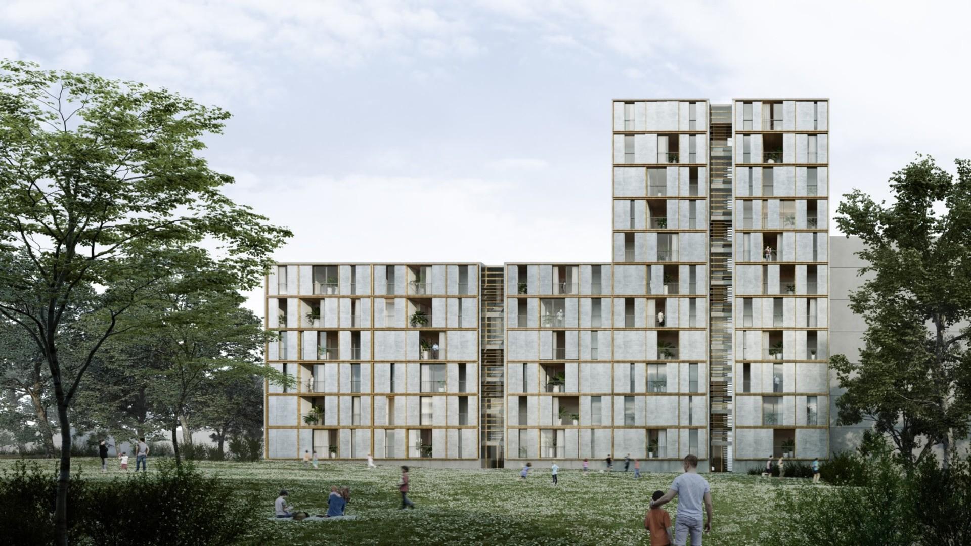 bloc fusta casernes Sant Andreu