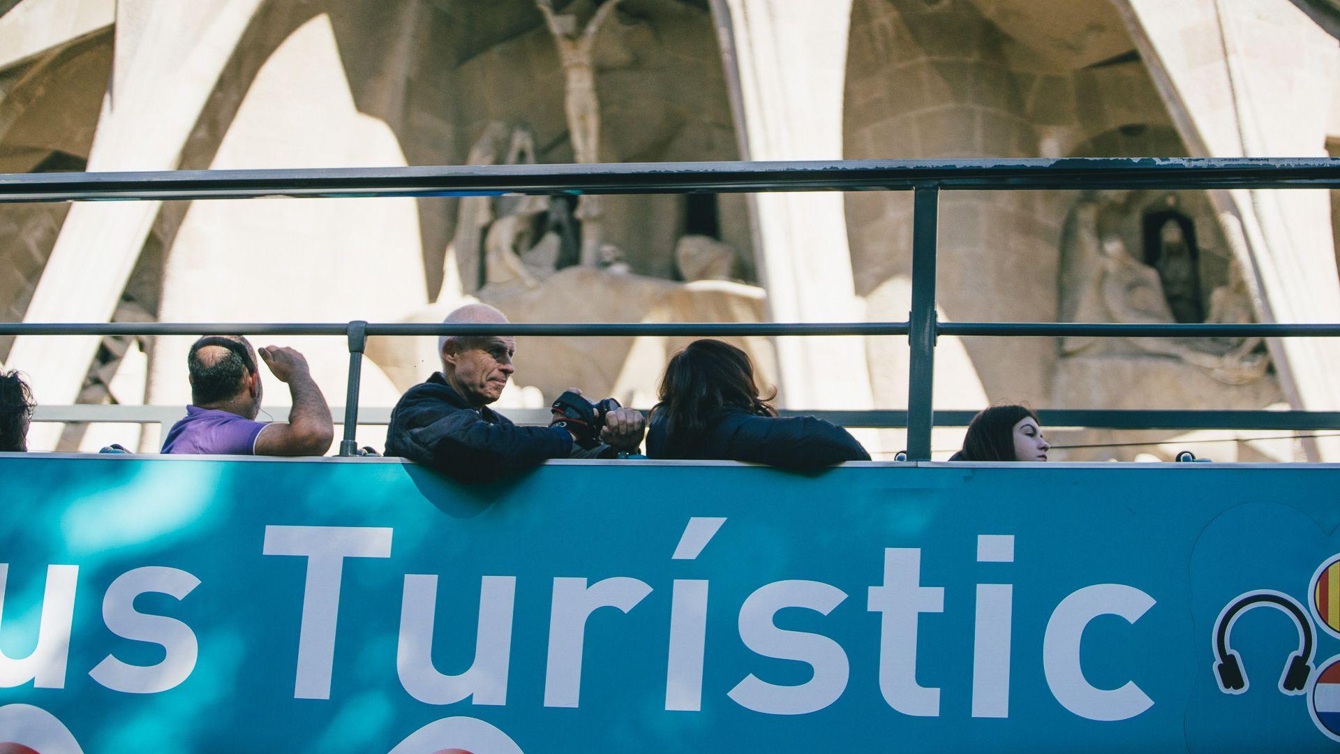 bus turístic barcelona sagrada família
