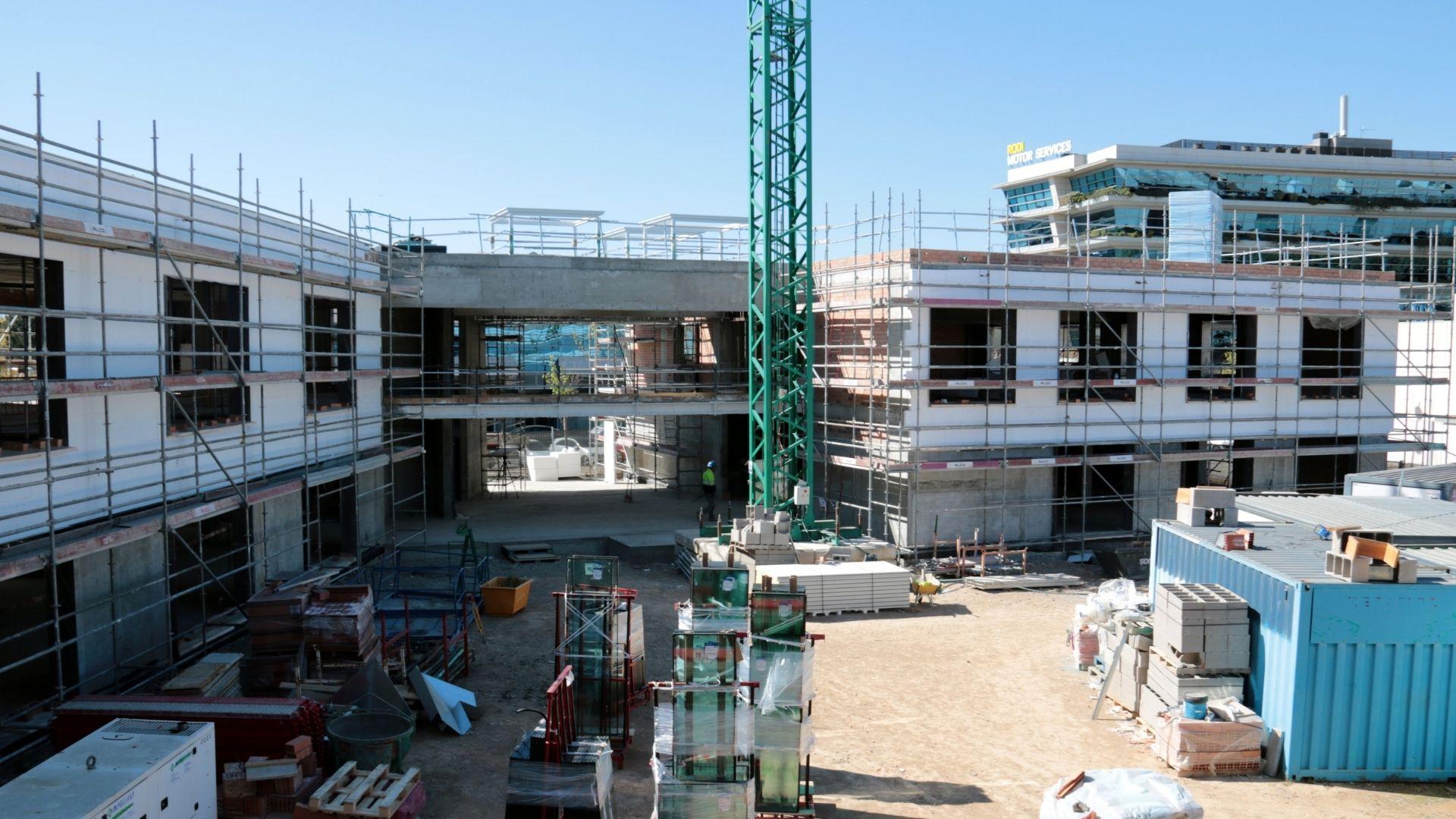 edifici construcció