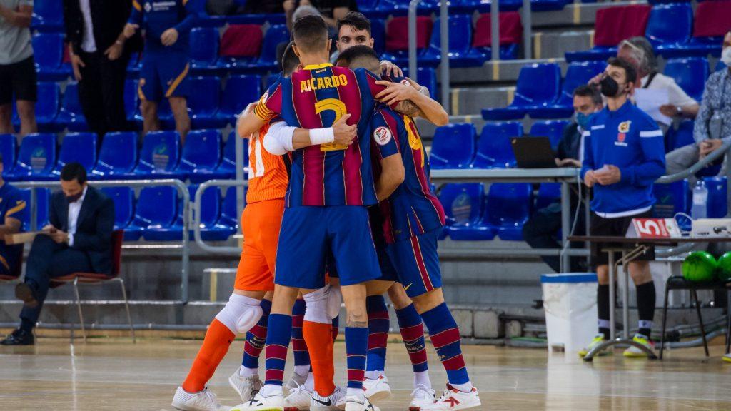 Victòria del Barça davant Movistar Inter