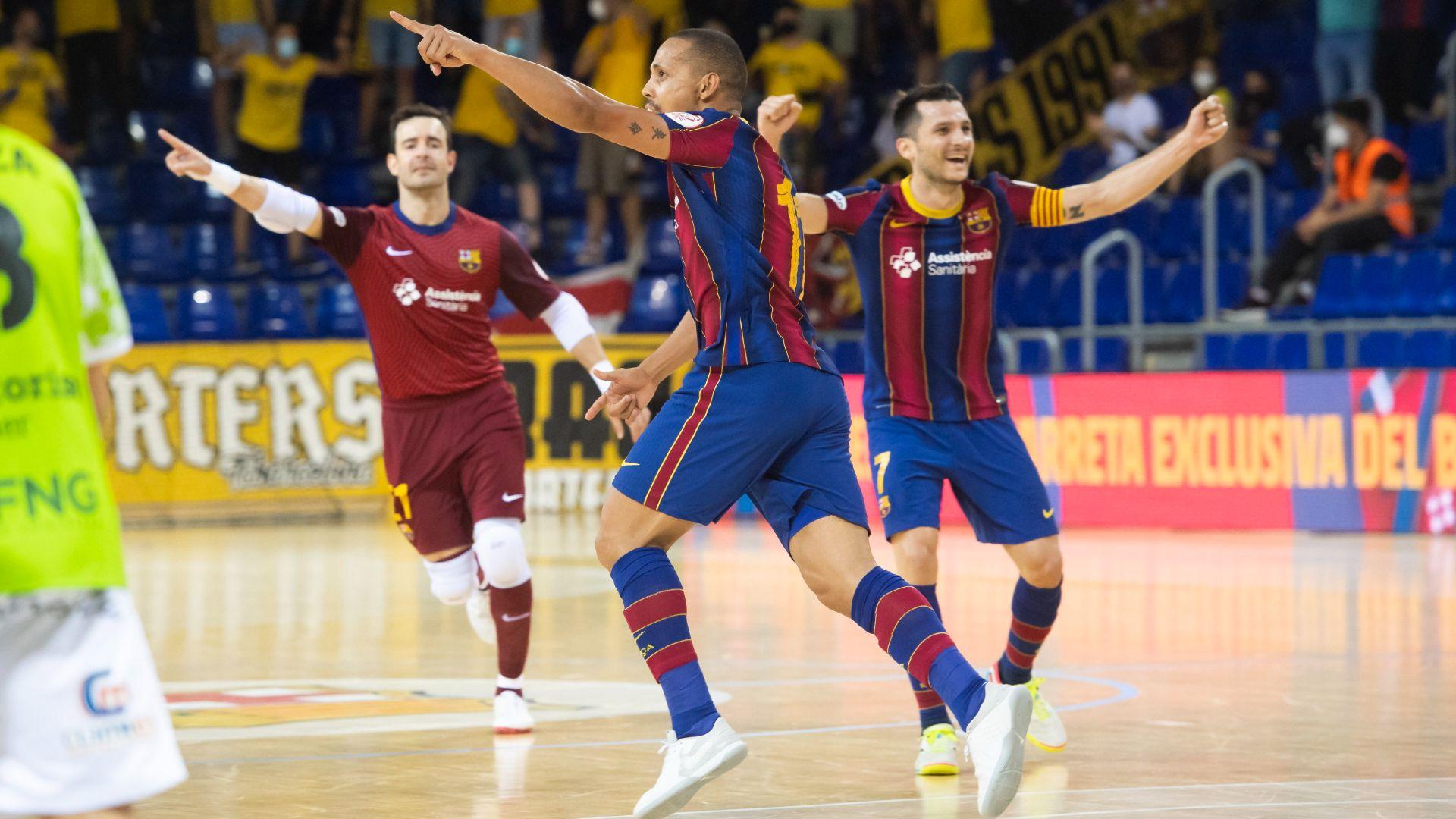 El Barça primer finalista tras superar a Palma, Levante y Valdepeña al tercer partido