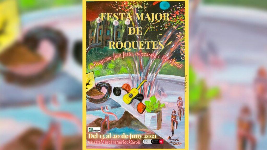 Festa Major Roquetes 2021 cartell