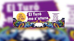 Festa Major Turó de la Peira 2021 cartell