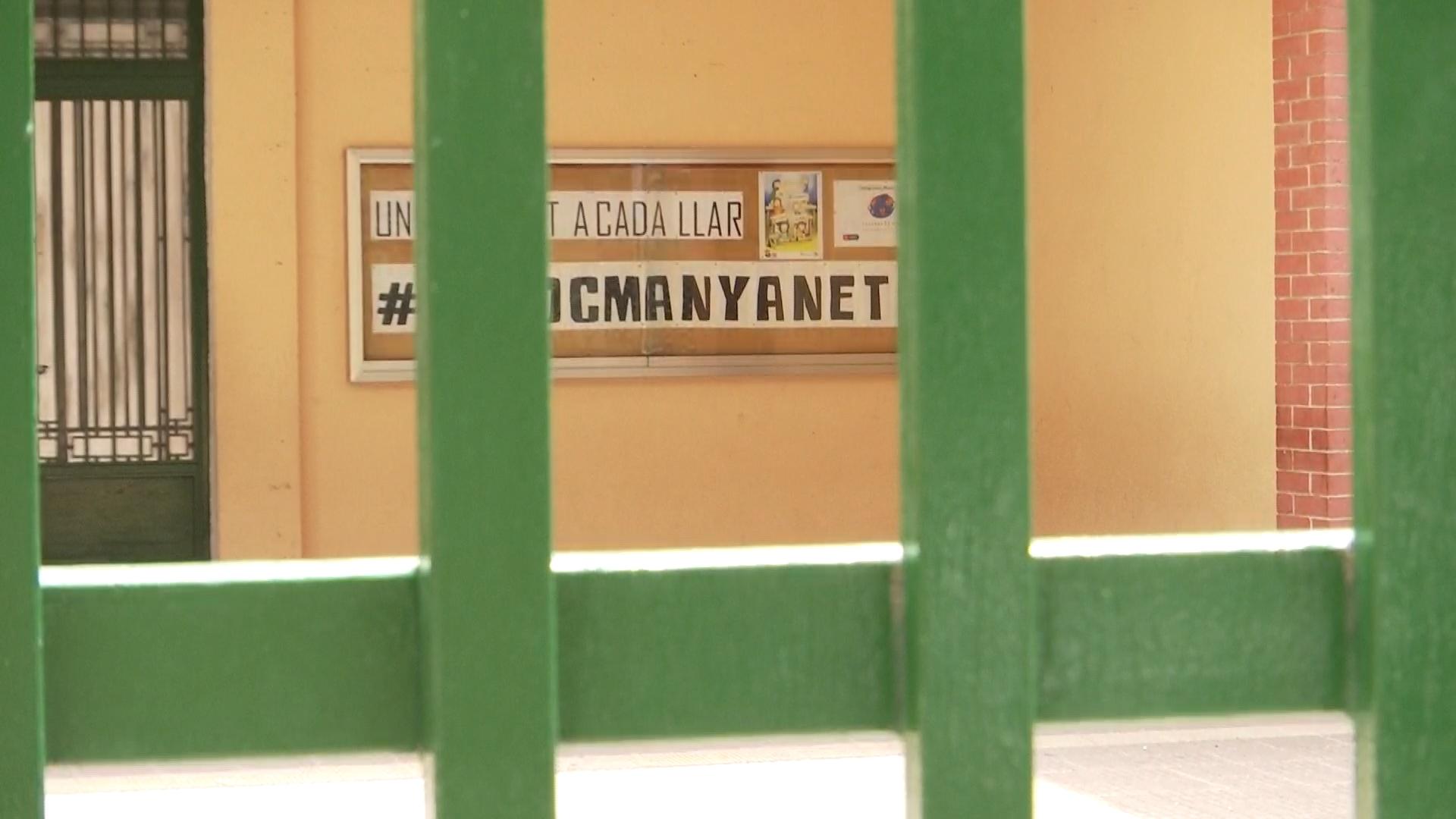 cartell escola Manyanet Sant Andreu