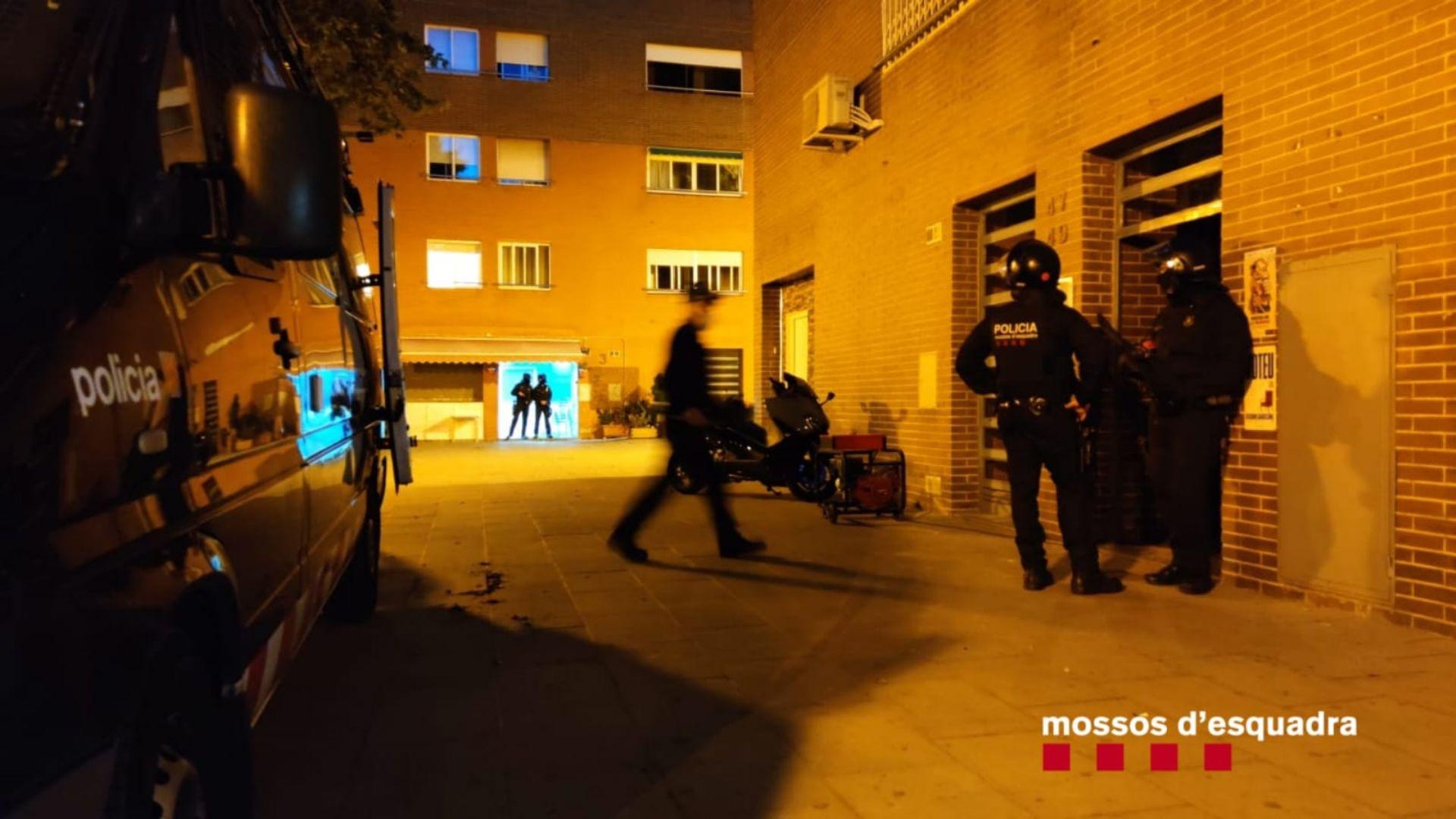 operacio mossos narcotrafic Zona Franca