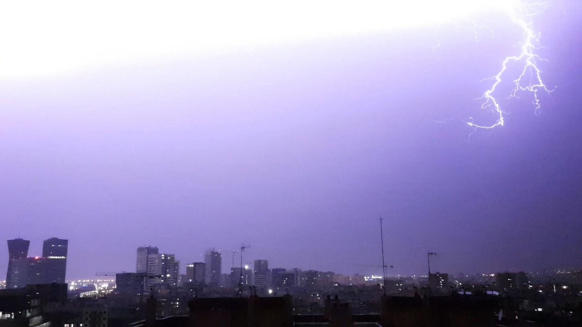 tempestes deñ 31 de juliol de 2021 a Barcelona