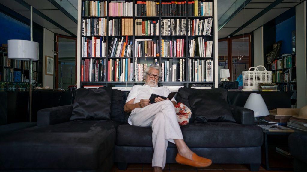 Retrats Oscar Tusquets Blanca casa seva 2021
