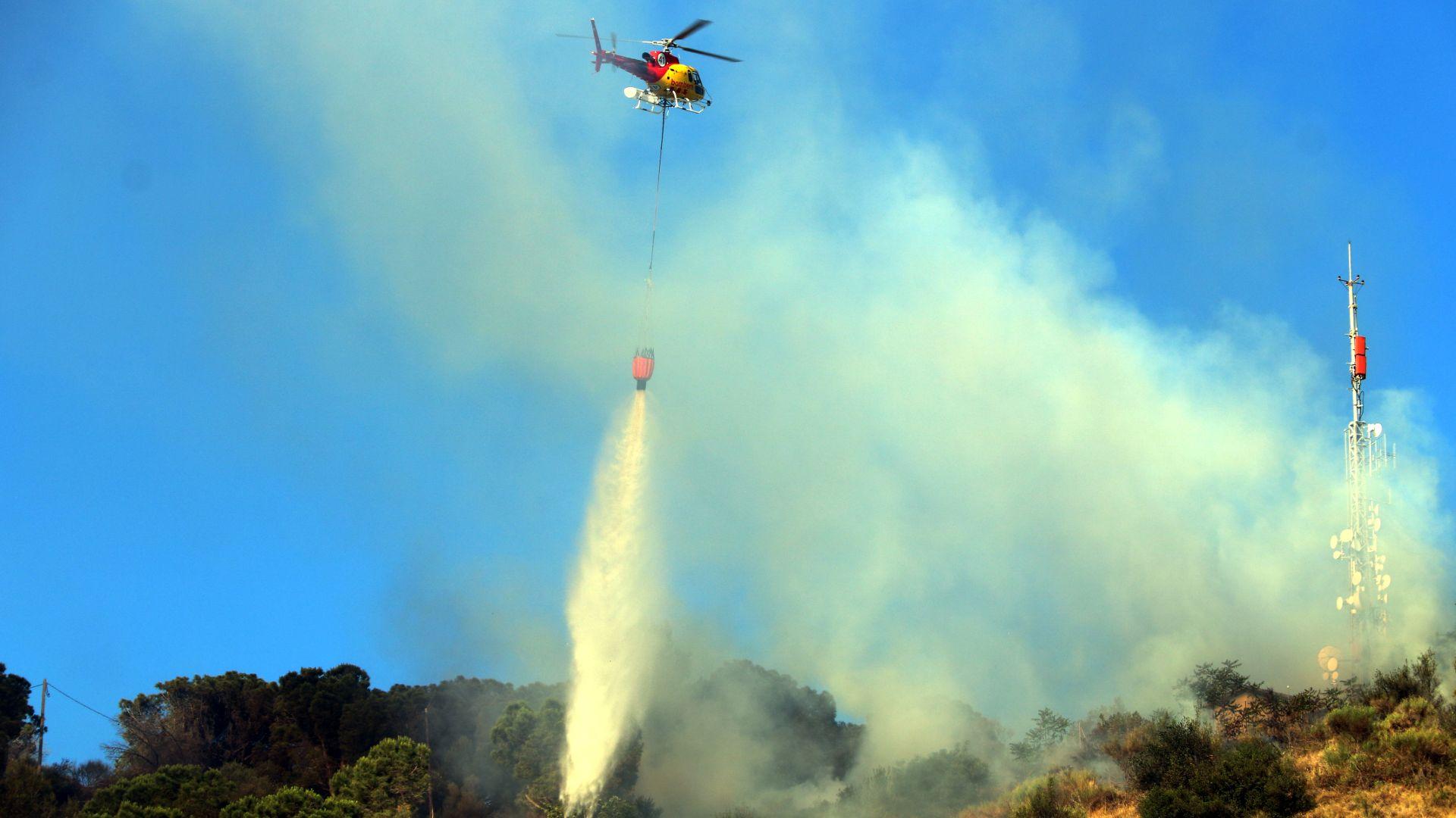 Helicopter incendi Castellví
