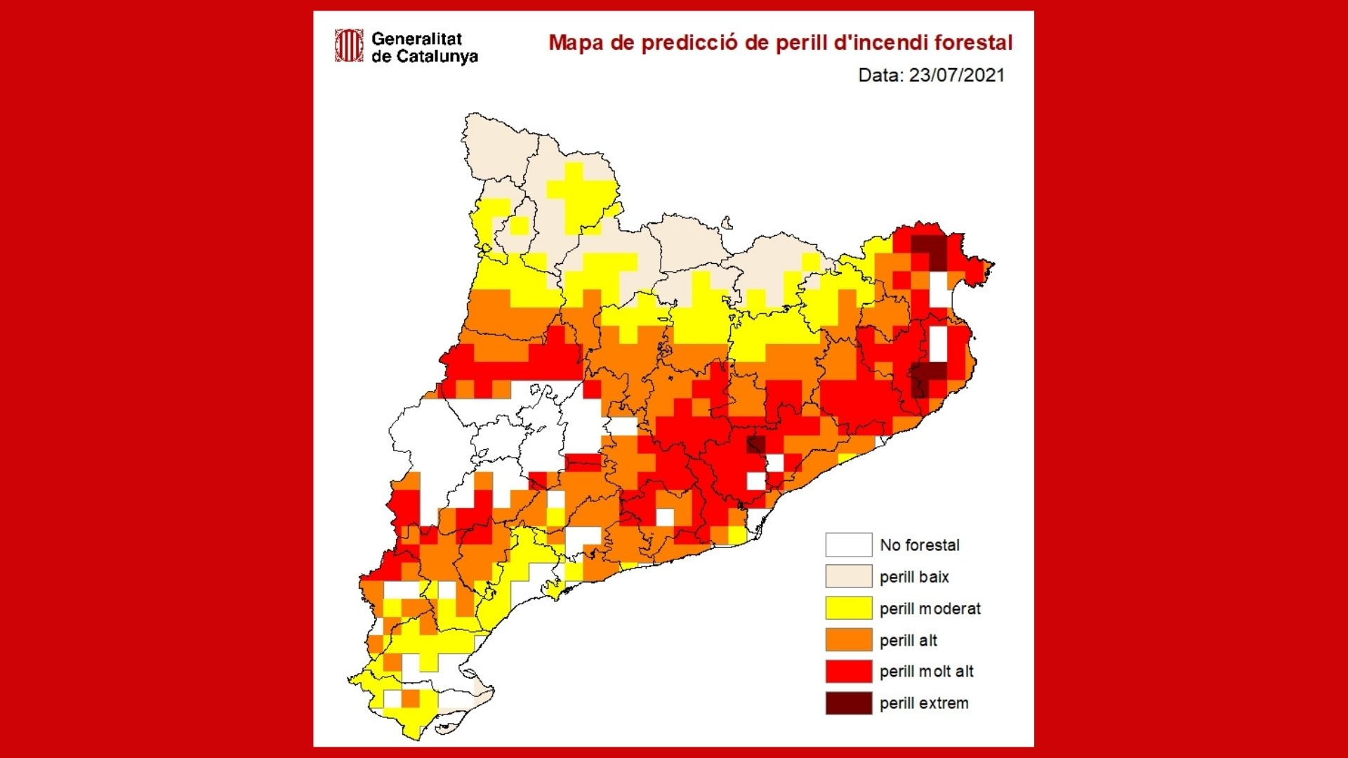 mapa risc incendi catalunya