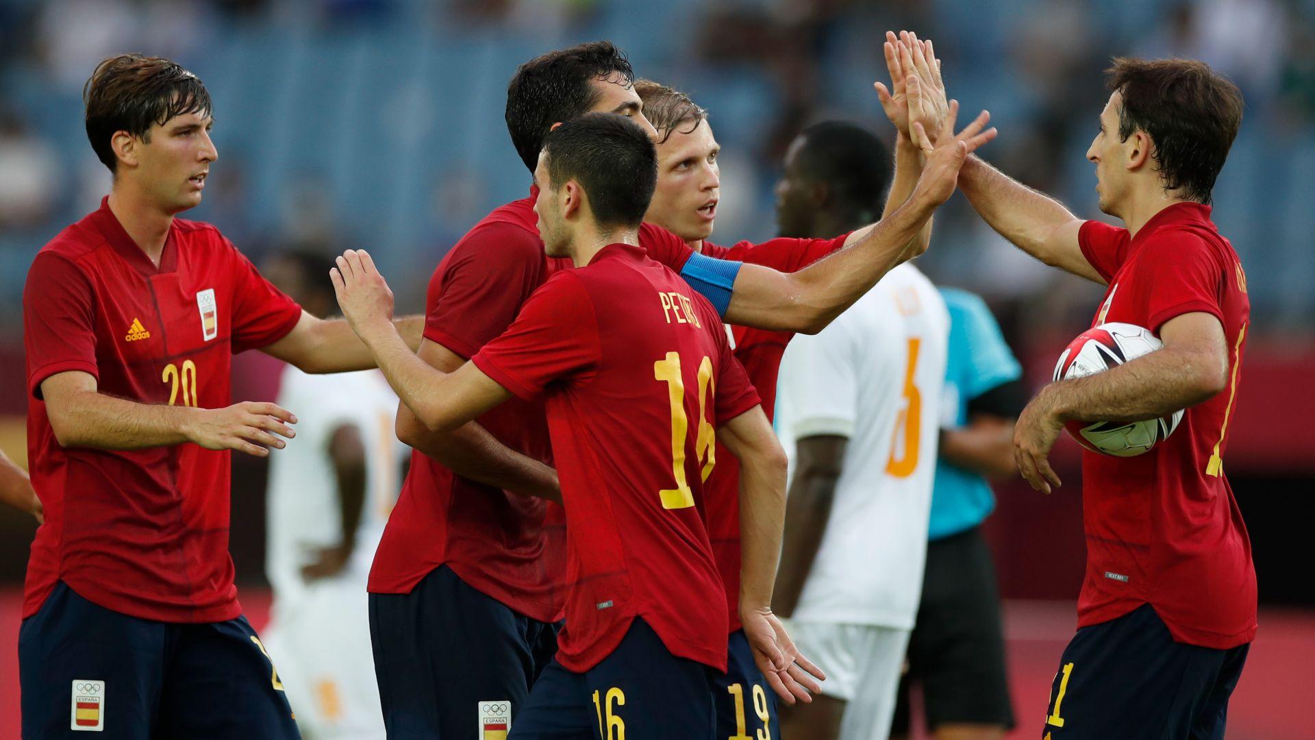 La selecció espanyola de futbol lluitarà per les medalles als JOcs