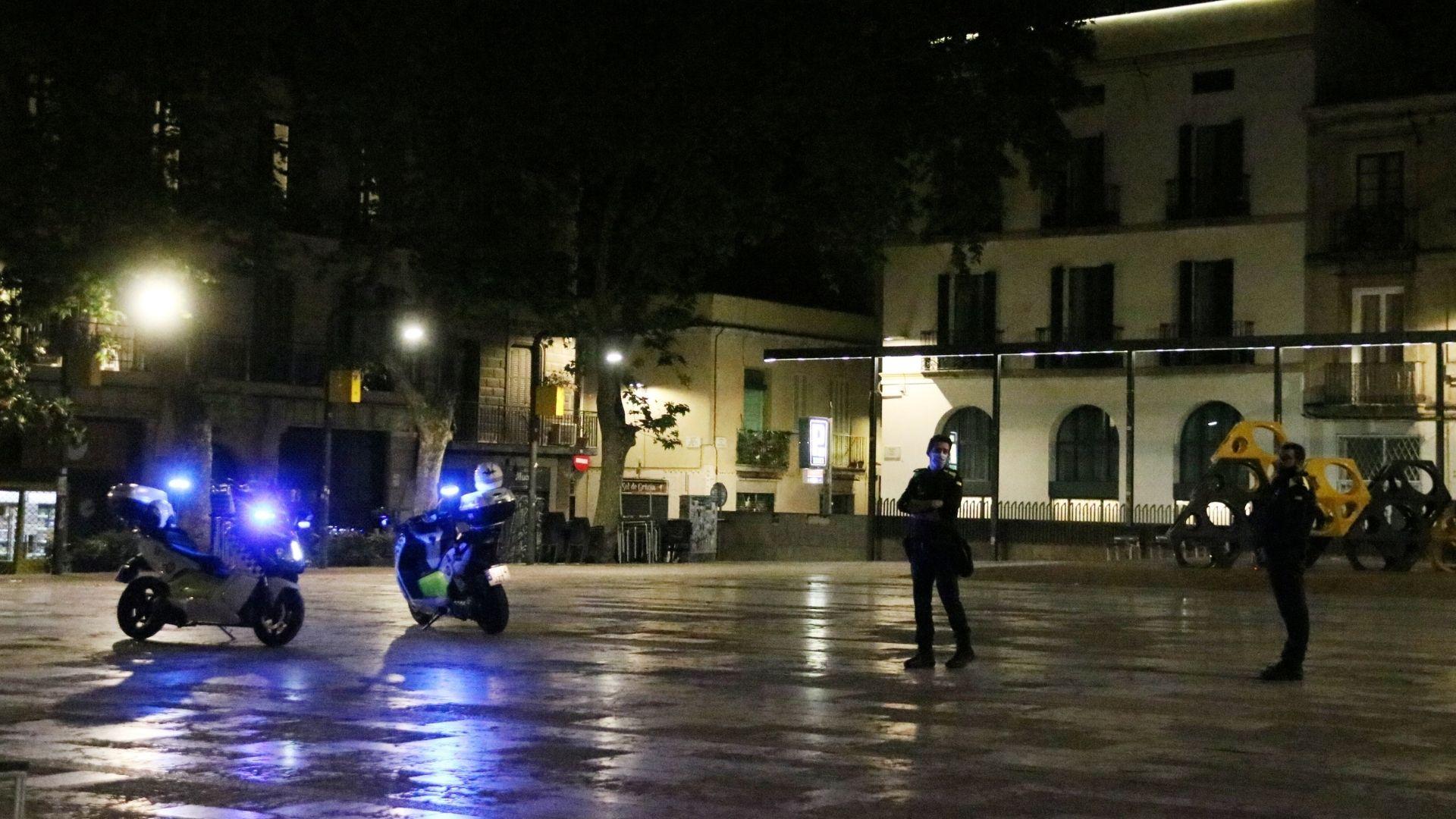 Toc de queda a Barcelona