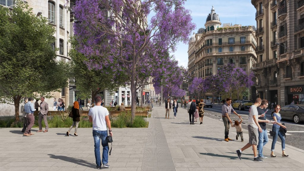 Projet de la nouvelle Via Laietana